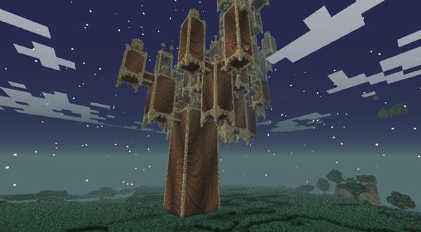 майнкрафт сумеречный лес темная башня