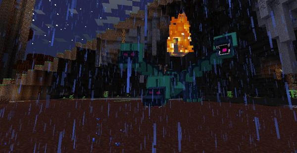 майнкрафт сумеречный лес гидра
