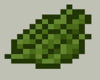 майнкрафт зеленый краситель