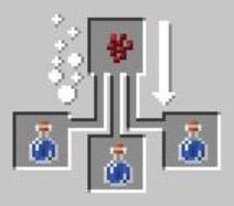 Создаем зелье урона 1 и 2 уровня в майнкрафт