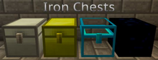 Мод Iron Chest для minecraft 1.6.4