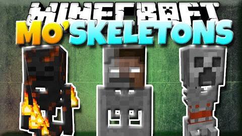 Больше скелетов с модом Mo-Skeletons