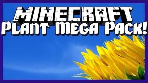Мод Plant Mega Pack для майнкрафт 1.6.4