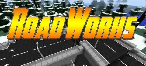 Мод RoadWorks для майнкрафта версии 1.6.4