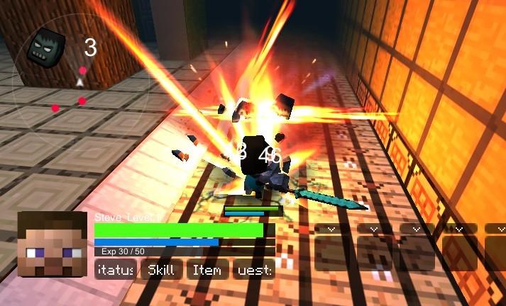 3д игра майнкрафт зомбикрафт