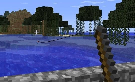 как поймать рыбу в майнкрафте