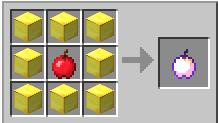 как скрафтить в майнкрафте золотое яблоко зачарованное