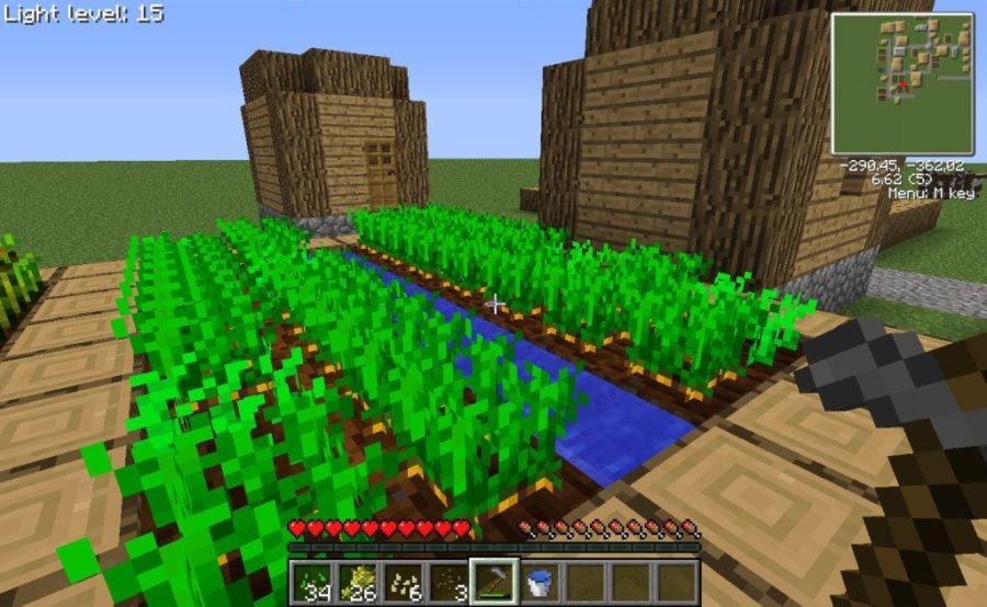как сажать семена в майнкрафте