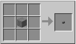 как сделать каменную кнопку в майнкрафте
